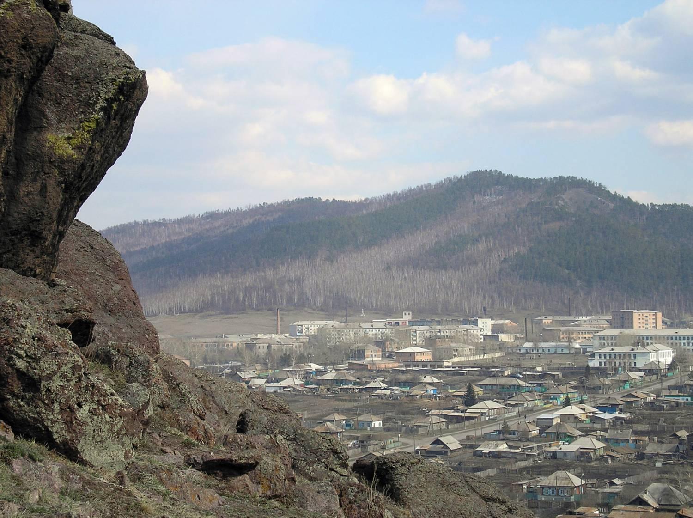 Боград село с горы Сталинка