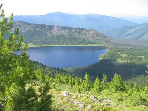 Озеро Маранкуль Хакасия
