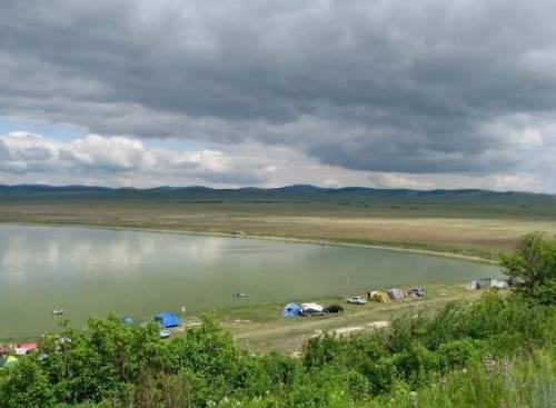 Озеро Чёрное Хакасия фото