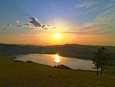 Озеро Шунет Хакасия фото