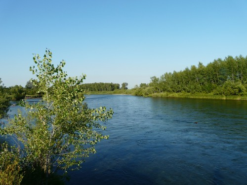 Река Абакан Хакасия