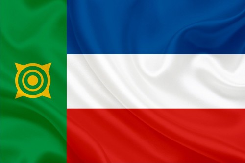 Флаг Хакасии