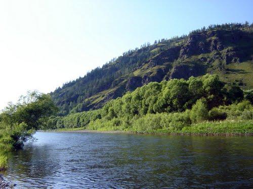 Река Таштып Хакасия