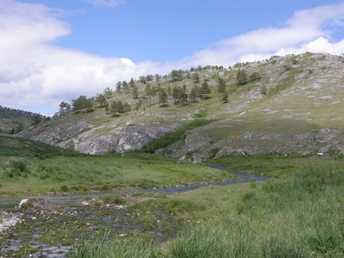 Исток реки Биджа