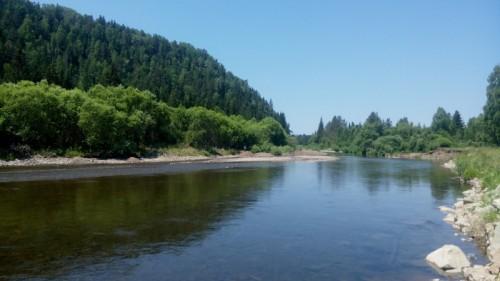 Матур Река в Хакасии