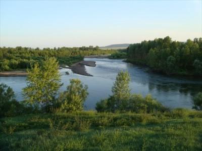 Чулым река Хакасия