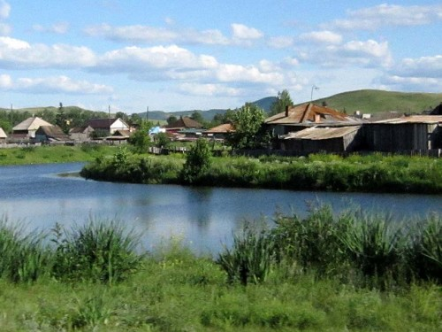 Река Туим Хакасия