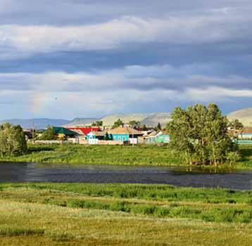 Село Знаменка Боградский район Хакасия