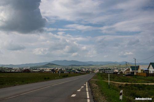 Поселок Шира фото
