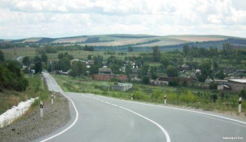 Село Краснополье Хакасия
